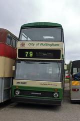 ARC 666T (ANDY'S UK TRANSPORT PAGE) Tags: buses ruddington preservedbuses nottinghamcitytransport