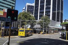 Willis Street - Wellington (andrewsurgenor) Tags: trolleybuses trolleybus trolleycoach trackless transit transport trolleybuswellington trolle wellingtontrolleybuses newzealandtrolleybuses obus filobus
