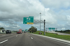 Sanford, FL- I-4 (jerseyman65) Tags: florida freeways roads routes interstates flroutes flroads flstateroads expressways exits interchanges tollroads tollways ramps signs guidesigns overheadsigns overheadgantries centralfl centralflorida sunshinestate fl flhighways flstateroutes highways gantries