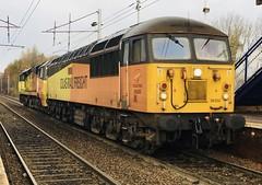 Colas Rail Class 56 (56302) - Holytown (saulokanerailwayphotography) Tags: colasrailfreight class56 56302