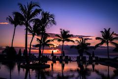 Sunset Ile Maurice (anthonylepriol) Tags: sunset paysage sky love sun nuage couleur nikon z6 ile maurice piscine palmier ciel bleu rouge feu