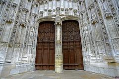 PAYSAGES DE PICARDIE 372 (aittouarsalain) Tags: cathédrale picardie gothique pierres sculptures porte porche entrée