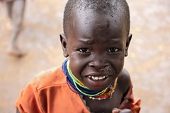 Turkana Child (Rod Waddington) Tags: africa african afrique afrika uganda ugandan eastern culture cultural child portrait people turkana tribe traditional tribal beads