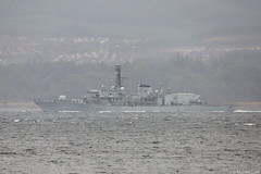 RN Type-23 (Duke-class) frigate HMS St Albans, F83, IMO 8949721; Firth of Clyde, Scotland (Michael Leek Photography) Tags: warship nato firthofclyde clyde hmnbclyde hmnb hmsneptune faslane gareloch boat workingboat workboat ship vessel navalvessel britainsarmedforces britainsnavy type23 type23frigate stalbans portsmouth rn royalnavy westcoastofscotland westernscotland scotland scottishlandscapes scottishcoastline scotlandslandscapes scottishshipping gourock inverclyde holyloch strone michaelleek michaelleekphotography fog rain mist
