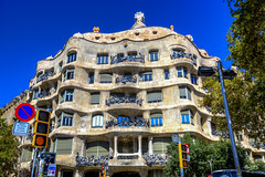 Mila_CB6A0175 (gkalaf) Tags: espana spain barcelona guadi casa mila pedrera hdr