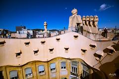 Mila_CB6A0070 (gkalaf) Tags: espana spain barcelona guadi casa mila pedrera