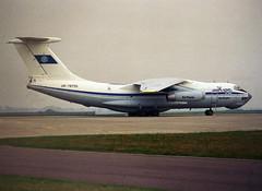 UR-78755 (wiltshirespotter) Tags: luton il76 airfoyle ilyushin