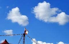 Zirkus   circus (swordsweeper) Tags: zirkus circus wolken himmel sky clouds berlin brandenburg mauerweg