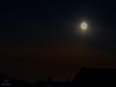 diesiger Mond (Josef17) Tags: mond neblig abend