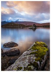 Lochan na h-Achlaise, Scotland(3) (S.R.Murphy) Tags: landscape lochannahachlaise oct2019 scotland morning morninglight lake loch clouds water rocks lee06ndgrad leepolariser calm serene tranquil dawn fujifilmxt2 fujifilmxf1680mm longexposure