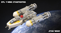 SW Microfighters: Y-Wing (Ben Cossy) Tags: lego moc afol tfol ywing space star wars rebels rebellion micro scale microscale