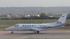 S5-BSA Citation 550 at PMI (jackcollyer) Tags: s5bsa citation 550 cessna pmi sky x airways 26r palma