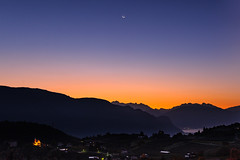 26.10.2019, 6:13 am (andreassimon) Tags: rosengarten mond südtirol prissian italien moon morgen morning