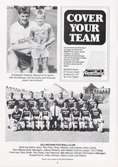 Doncaster Rovers vs Gillingham - 1989 - Page 6 (The Sky Strikers) Tags: doncaster rovers gillingham belle vue ground barclays league division four official programme 60p