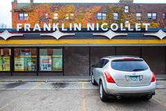 Franklin Nicolet (Thomas Hawk) Tags: america franklinnicolletliquor liquorstore minneapolis minnesota usa unitedstates unitedstatesofamerica auto automobile car liquor neon neonsign fav10