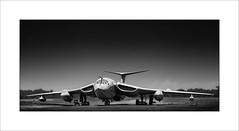 Handley Page Victor (tkimages2011) Tags: handley page victor strategic bomber raf vbomber airplane aeroplane aviation mono monochrome sky yorkshire air museum