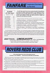 Doncaster Rovers vs Gillingham - 1989 - Page 21 (The Sky Strikers) Tags: doncaster rovers gillingham belle vue ground barclays league division four official programme 60p
