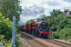 Now ... (Yorkie Jonathan) Tags: uksteam lms jubilee 6p 45699 galatea bootham york scarboroughspaexpress sse