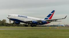 CU-T1250 Cubana Ilyushin Il-96 EIDW take off  October 2019 with Cuban president on board_ (Conor O'Flaherty) Tags: cubana ilyushin il96 cuba ireland dublin airport dublinairport eidw president aviation jet quad russian