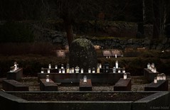 Remembering The Dead (felix200SX) Tags: cemetery candles stones outside halloween suomi finland pukkila canon 70d