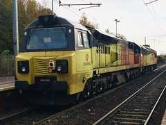 Colas Rail Class 70 (70817) - Holytown (saulokanerailwayphotography) Tags: colasrailfreight class70 70817
