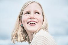 That smile, that happiness 1 (PascallacsaP) Tags: portrait film smile smiling laughing availablelight happiness simulation portraiture venlo outdoorportrait fujipro160s filmsimulation happy freckles sky captureonepro