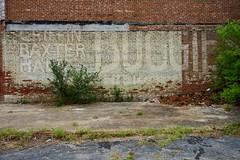 Ghost Sign Revealed (Todd Evans) Tags: sony alpha a7ii monroe georgia ga brick wall sign ghostsign
