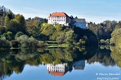 Ozalj, Croatia - Castle Ozalj over the river Kupa (Marin Stanišić Photography) Tags: ozalj croatia karlovaccounty castle river kupa reflections autumn nikon d5500 colors