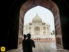 Taj Mahal, India (Uralistan.roadtrip) Tags: inde voyage travel india taj mahal mosquée mosque tajmahal architecture merveille incontournable mustsee