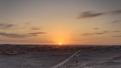 Yardang Sunset (59ling) Tags: yardang 雅丹 sundet hdrmerge sony china northwest desert gobi