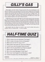 Doncaster Rovers vs Gillingham - 1989 - Page 15 (The Sky Strikers) Tags: doncaster rovers gillingham belle vue ground barclays league division four official programme 60p