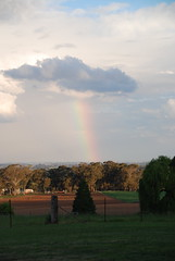 Downtime Down Under - Somewhere Over the Rainbow... (antonychammond) Tags: judygarland thewizardofoz rainbow sky light orange newsouthwales australia clouds contactgroups scenicsnotjustlandscapes nwn