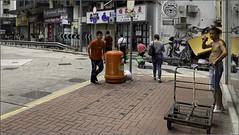 """Hard Work on a Hot Day"" Sai Ying Pun, Hong Kong, China (September 2019) (Kommie) Tags: sai yin pun hong kong china street photography candid apple iphone xs max"