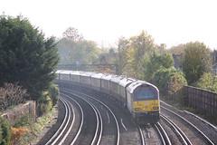 67021, Shortlands (looper23) Tags: shortlands rail railway bromley london train november 2019 belmond pullman class 67 db dbs