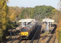 67024, Shortlands (looper23) Tags: shortlands rail railway bromley london train november 2019 belmond pullman class 67 db dbs