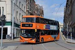442 - YN18 SXA (Solenteer) Tags: nottinghamcitytransport 442 yn18sxa scania n280ud cng alexanderdennis enviro400city nottingham