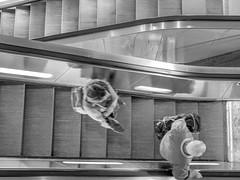 Escalator (jörg_grontzki) Tags: untergrund spielerei gfx fuji gfx100 ubahn hannover rollteppe escalator