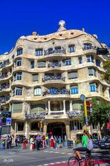Mila_CB6A0187 (gkalaf) Tags: espana spain barcelona guadi casa mila pedrera hdr