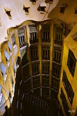 Mila_CB6A0080 (gkalaf) Tags: espana spain barcelona guadi casa mila pedrera