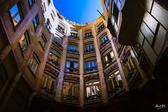 Mila_CB6A0060 (gkalaf) Tags: espana spain barcelona guadi casa mila pedrera