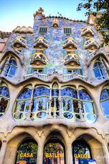 Batllo_CB6A0237 (gkalaf) Tags: espana spain barcelona guadi casa batllo batlló hdr