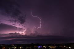 Lightning / 2019-06-10 (astrofreak81) Tags: explore lightning blitz gewitter donner sturm regen rain strom hell knall licht couds wolken light night sky dark canon eos 1000d dresden 20190610 astrofreak81 sylviomüller sylvio müller