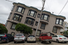 Mind boggling (sarah_presh) Tags: crazy sanfrancisco california road street vehicles leaning nikond850 exterior steep