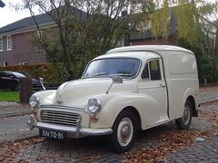 XN-70-81 MORRIS MINOR VAN 1968 Apeldoorn (willemalink2) Tags: xn7081 morris minor van 1968 apeldoorn