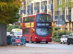 AL DW485 - LJ61CAA - WEIGAL ROAD KIDBROOKE - SAT 9TH NOV 2019 (Bexleybus) Tags: arriva london kidbrooke village ferrier estate se3 east wrightbus tfl new route 335 daf dw485 lj61caa weigal road