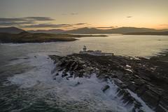 A light in the dark. (Sean Hartwell Photography) Tags: valentia island lighthouse light wildatlanticway kerry countykerry ireland atlantic ocean waves rugged rocks irish lights