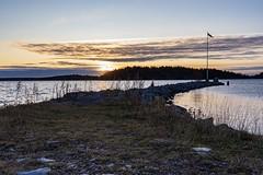 Sunrise (envall.magnus) Tags: sunrise clouds water sea ocean sky archipelago scandinavia europe sweden sverige österåker åkersberga skeppsdal canon