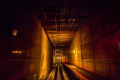 The Future's Not What It Used to Be (Thomas Hawk) Tags: america colorado denver denverairport usa unitedstates unitedstatesofamerica airport traintracks tunnel fav10 fav25