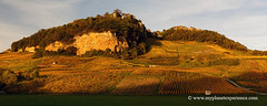 Château-Chalon - France (My Planet Experience) Tags: vineyard hill village châteauchalon vine wine colour automn fall color sunset nature landscape panorama horizontal jura franchecomté france fr myplanetexperience wwwmyplanetexperiencecom