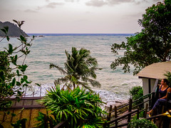 View to Sea from Panviman Resort, Kho Pha Ngan 2017 (Bluebullet1) Tags: sea landscape blue outside city water colour